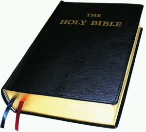 The Holy Bible, bro!