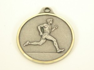 male runner medal_Main Product Image