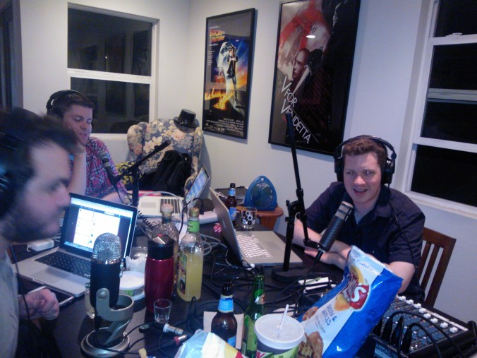 """The guys of the """"Entertainment Distilled"""" podcast. Think Pop Culture meets ESPN's """"Around The Horn."""""""