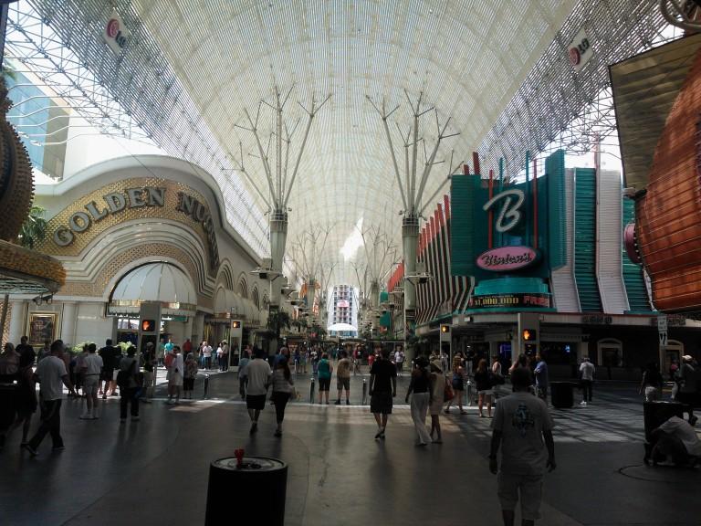 Downtown Las Vegas! Cheap eats and good games.