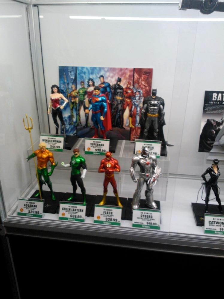 Action Figures. I got me a Mattel Shazam figure myself!