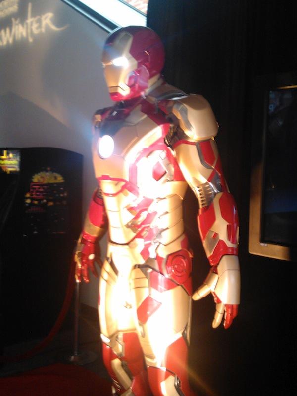 Iron Man suit at Nerd HQ
