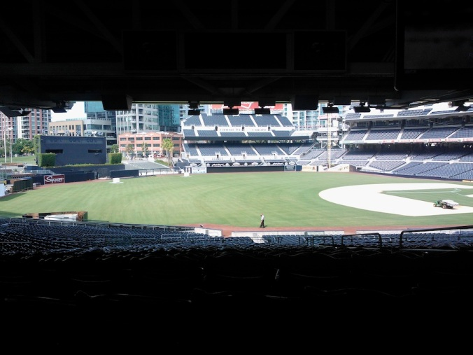 I got to visit  the beautiful Petco Park (aka Citi Field West) as part of my first Comic Con weekend