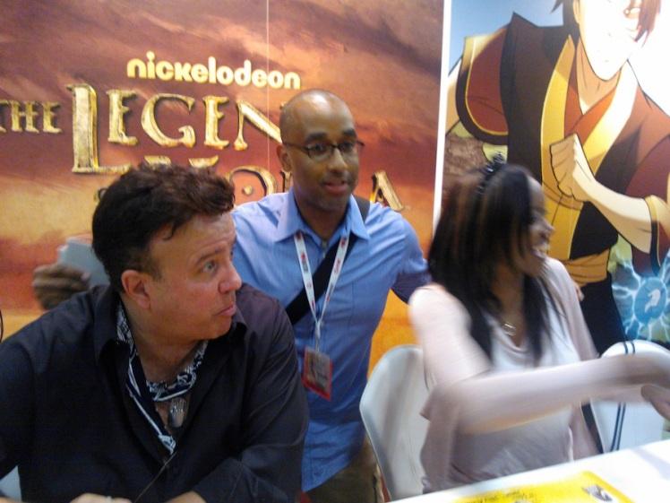 I actually got a chance to meet my favorite comic book artist, Shawn Martinbrough