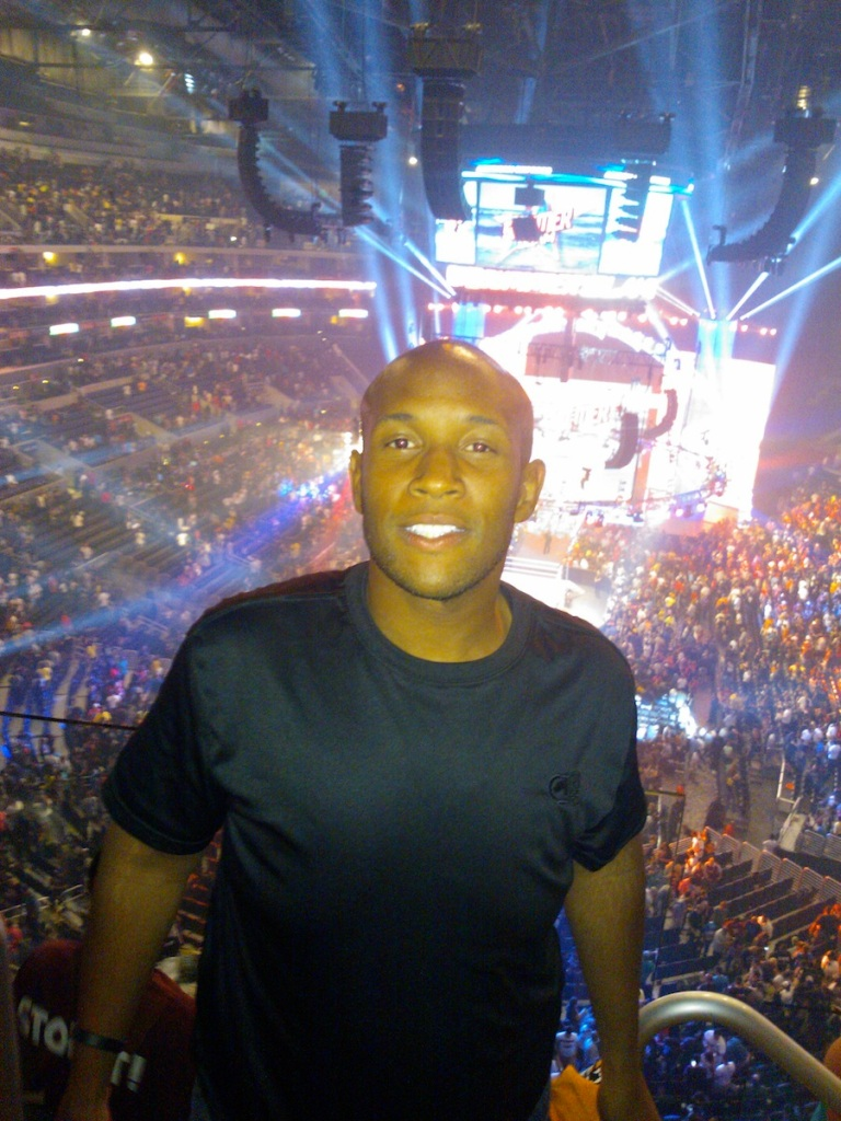Me at Summerslam 2013 (my second!)