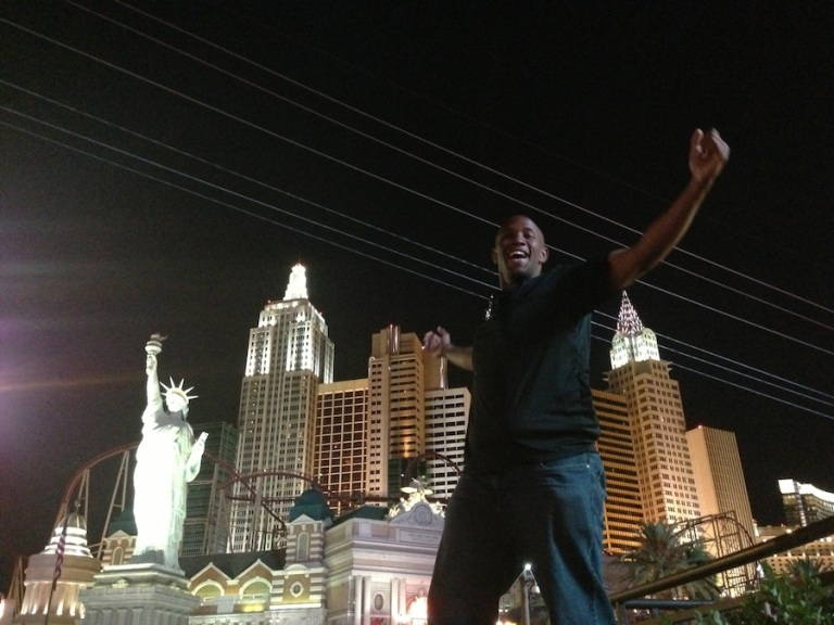 I take this shot every time I'm in Vegas. Birthday 2013