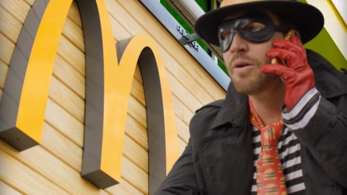 High-tech burger Ops